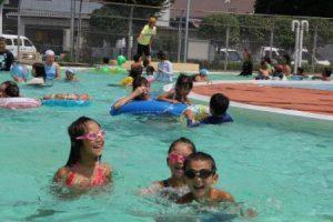 広瀬公園 水泳プール