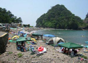 浮島海水浴場【西伊豆・入り江】